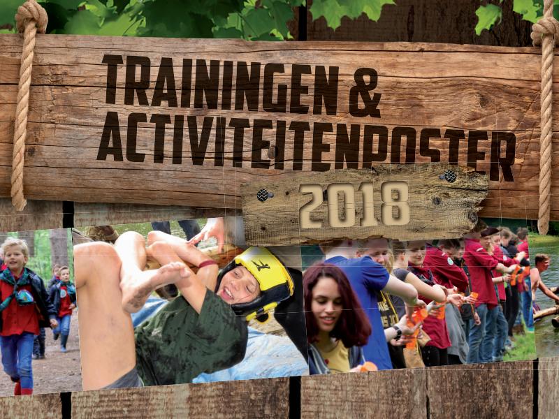 De Trainingen- & Activiteitenposter staat online!